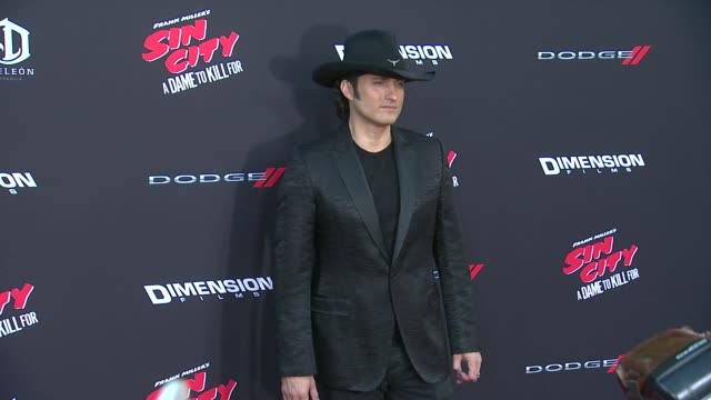 Robert Rodriguez at Sin City A Dame To Kill For Los Angeles Premiere at TCL Chinese Theatre on August 19 2014 in Hollywood California