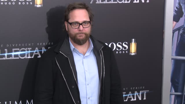 robert schwentke at allegiant new york premiere at amc loews lincoln square 13 theater on march 14 2016 in new york city - amc loews stock videos and b-roll footage
