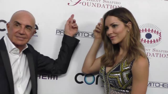Robert Shapiro and Katharine McPhee at the Annual Summer Spectacular to Benefit the Brent Shapiro Foundation for Alcohol and Drug Prevention in...
