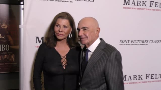 Robert Shapiro and Linell Shapiro at the Premiere Of Sony Pictures Classics' 'Mark Felt The Man Who Brought Down The White House' on September 26...