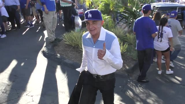 Robert Shapiro at the Dodgers vs Red Sox World Series game 5 at Dodger Stadium in Los Angeles at Celebrity Sightings in Los Angeles on October 27...
