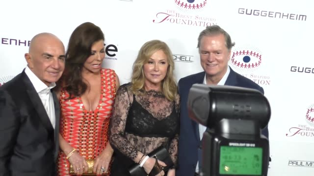 Robert Shapiro Linell Shapiro Kathy Hilton and Rick Hilton at the Annual Summer Spectacular to Benefit the Brent Shapiro Foundation for Alcohol and...