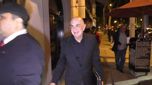 Robert Shapiro outside Craig's in West Hollywood at Celebrity Sightings in Los Angeles on March 24 2018 in Los Angeles California