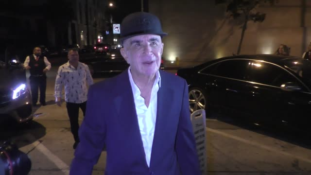 Robert Shapiro poses with fans outside Craig's in West Hollywood in Celebrity Sightings in Los Angeles