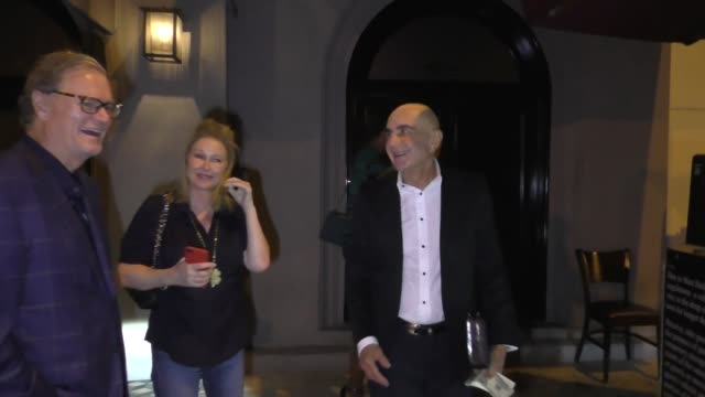 INTERVIEW Robert Shapiro Rick Hilton and Kathy Hilton on if Kim Kardashian should go into politics outside Craig's in West Hollywood at Celebrity...
