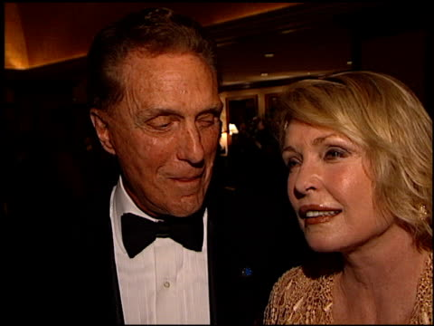 robert stack at the thalians 46th annual ball at century plaza in century city california on october 13 2001 - thalians annual ball stock videos & royalty-free footage