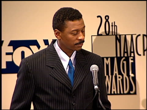 robert townsend at the naacp 28th annual image awards on february 8 1997 - naacp stock videos & royalty-free footage