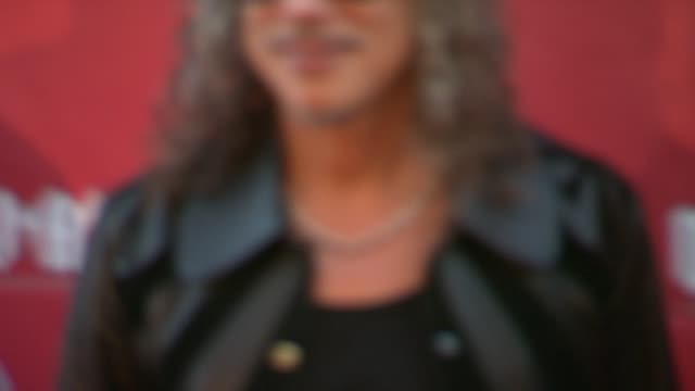 Robert Trujilo Kirk Hammett at 2014 10th Annual MusiCares MAP Fund Benefit Concert Arrivals at Club Nokia on May 12 2014 in Los Angeles California