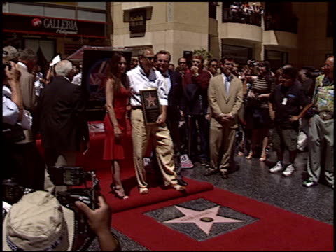 robert wagner at the dedication of kevin costner's hollywood walk of fame star at hollywood boulevard in hollywood california on august 11 2003 - robert wagner stock videos & royalty-free footage
