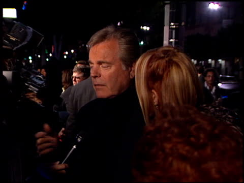 robert wagner at the 'wild things' premiere at hollywood galaxy theater in hollywood california on march 6 1998 - robert wagner stock videos & royalty-free footage