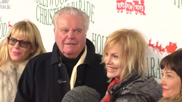 robert wagner katie wagner natasha gregson wagner at the 85th annual hollywood christmas parade on november 27 2016 in hollywood california - robert wagner stock videos & royalty-free footage