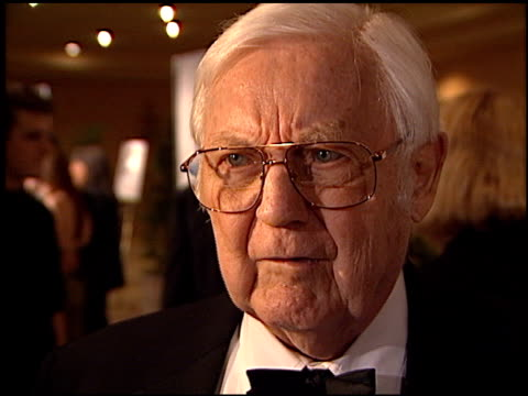 robert wise at the 2002 producers guild of america awards at the century plaza hotel in century city, california on march 3, 2002. - century plaza stock videos & royalty-free footage