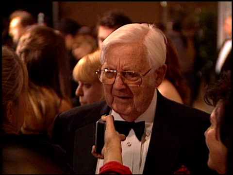 Robert Wise at the 2002 Producers Guild of America Awards at the Century Plaza Hotel in Century City California on March 3 2002