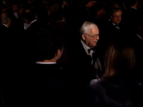 robert wise at the director's guild dga awards at the century plaza hotel in century city, california on march 10, 2001. - century plaza stock videos & royalty-free footage