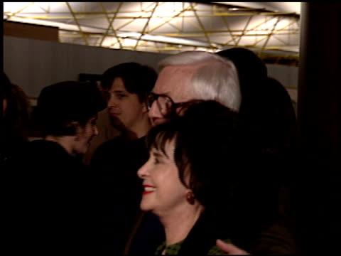 robert wise at the premiere of 'the piano' on november 17, 1993. - robert wise bildbanksvideor och videomaterial från bakom kulisserna