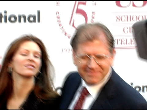 robert zemeckis and wife at the usc school of film and television's 75th anniversary gala at hobart auditorium in los angeles california on september... - 75th anniversary stock videos & royalty-free footage