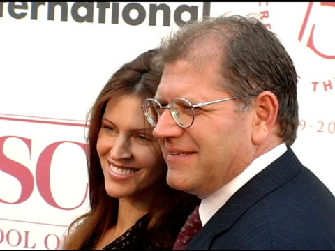robert zemeckis and wife at the usc school of film and television's 75th anniversary gala at hobart auditorium in los angeles california on september... - robert zemeckis stock videos and b-roll footage
