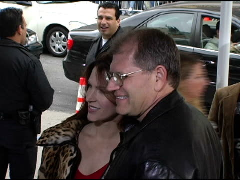robert zemeckis and wife leslie zemeckis at the 'polar express' premiere arrivals at grauman's chinese theatre in hollywood california on november 7... - robert zemeckis stock videos and b-roll footage