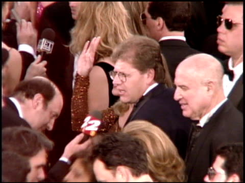 robert zemeckis at the 1995 academy awards arrivals at the shrine auditorium in los angeles, california on march 27, 1995. - 67th annual academy awards stock videos & royalty-free footage