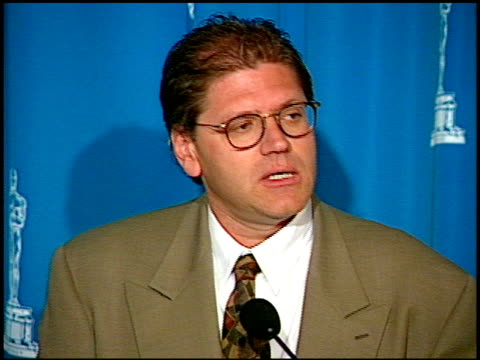 robert zemeckis at the 1995 academy awards luncheon at the beverly hilton in beverly hills california on march 14 1995 - robert zemeckis stock videos and b-roll footage