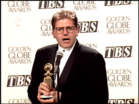 robert zemeckis at the 1995 golden globe awards at the beverly hilton in beverly hills california on january 21 1995 - robert zemeckis stock videos and b-roll footage