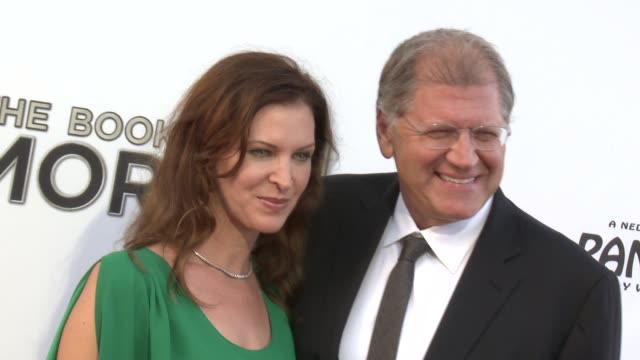robert zemeckis at the book of mormon los angeles opening night on 9/12/12 in los angeles ca - robert zemeckis stock videos and b-roll footage