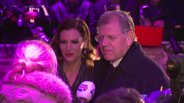 robert zemeckis at the flight premiere the empire leicester square london on the 17th of january 2013 - robert zemeckis stock videos and b-roll footage