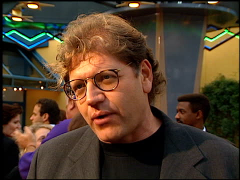 robert zemeckis at the premiere of 'the frighteners' at universal city cinema in universal city california on july 17 1996 - robert zemeckis stock videos and b-roll footage