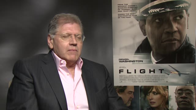 interview robert zemeckis on remake movie gossip at the flight junket in london on 17th january 2013 - robert zemeckis stock videos and b-roll footage