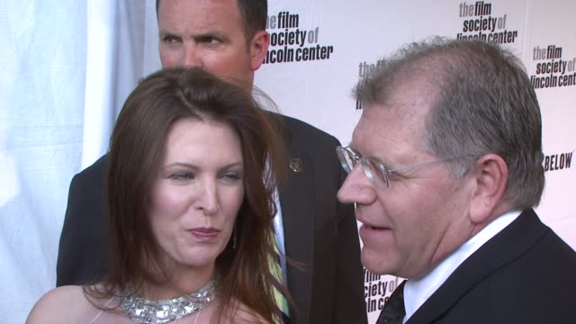 robert zemeckis talking about directing tom in forest gump not wanting to do cast away without tom and possible future projects with tom at the film... - robert zemeckis stock videos and b-roll footage