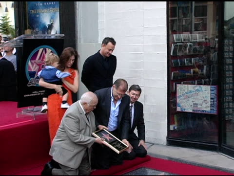 robert zemeckis unveils his star at the dedication of robert zemeckis' star on the hollywood walk of fame at hollywood boulevard in hollywood... - robert zemeckis stock videos and b-roll footage