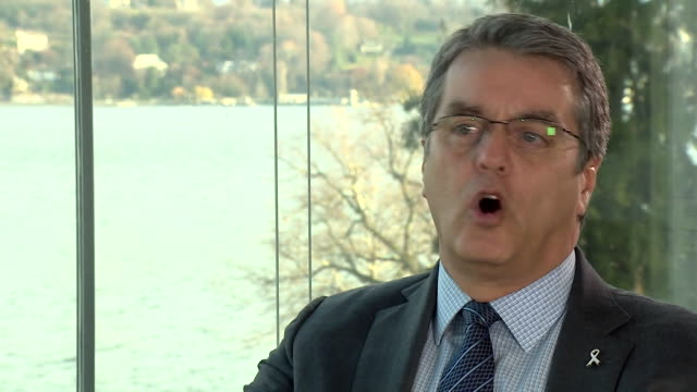 Roberto Azevedo head of the WTO saying Brexit will not lead to a total economic collapse where 'trade stops' but there will 'clearly be an impact'