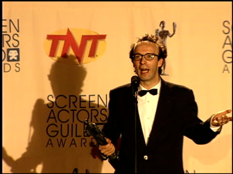 Roberto Benigni at the 1999 Screen Actors Guild SAG Awards at the Shrine Auditorium in Los Angeles California on March 7 1999