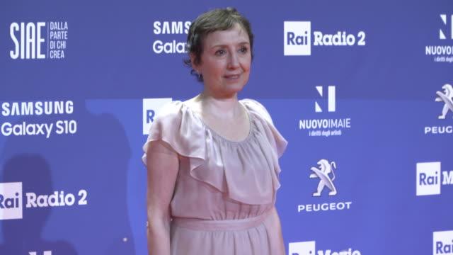 Roberto Benigni Nicoletta Braschi at The David di Donatello Awards on March 27 2019 in Rome Italy