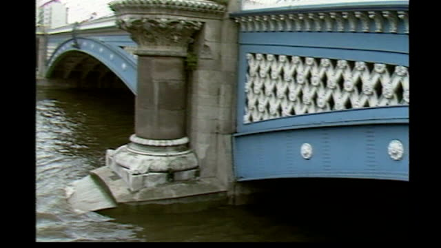 All five defendants acquitted by Rome jury TX ENGLAND London Blackfriars Bridge EXT Bridge archway