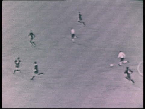 London Wembley Stadium Bobby Charlton scoring for England in 1966 World Cup v Mexico Crowd cheer