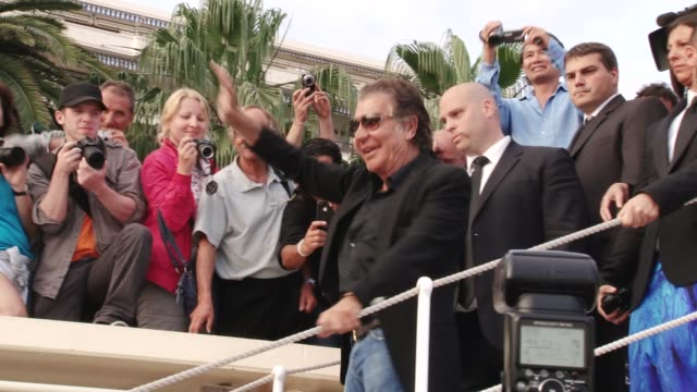 Roberto Cavalli Quintessentially Cannes Footage on May 25 2011 in Cannes France