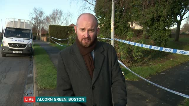 roberts buncis murder: 14 year old charged with murder; england: lincolnshire: boston: alcorn green: ext reporter to camera live - crime and murder stock videos & royalty-free footage