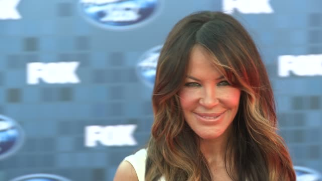 robin antin at the fox's 'american idol 2011' finale results show at los angeles ca - results show stock videos & royalty-free footage