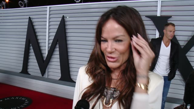 interview robin antin on her dress and her personal hot 100 list at the maxim hot 100 and relaunch party at pacific design center on june 10 2014 in... - pacific design center stock videos and b-roll footage