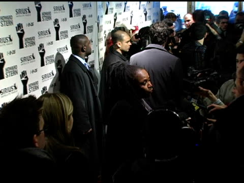 robin quivers at the howard stern last day live event arrivals and inside at hard rock cafe in new york, new york on december 16, 2005. - robin day stock videos & royalty-free footage
