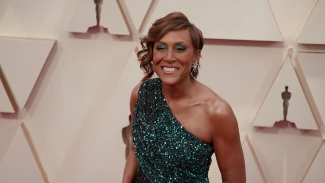 robin roberts at the 92nd annual academy awards at the dolby theatre on february 09 2020 in hollywood california - academy of motion picture arts and sciences stock videos & royalty-free footage