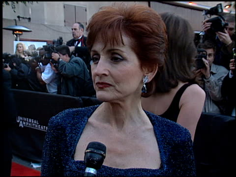 robin strasser at the soap opera digest awards entrances at universal studios in universal city, california on february 26, 1999. - soap opera stock videos & royalty-free footage