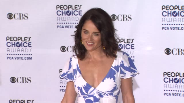 Robin Tunney at the 35th Annual People's Choice Awards at Los Angeles CA