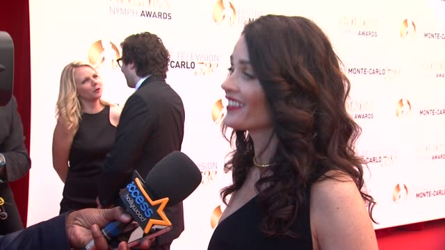 vidéos et rushes de robin tunney at the closing ceremony of the 53rd monte-carlo television festival - day 4 in monte-carlo, monaco, on 6/13/13. - robin day