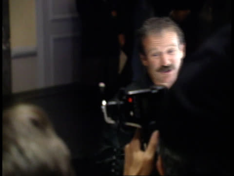 robin williams is photographed - friars roast 1993 stock videos and b-roll footage