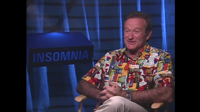 robin williams on being a lonely child - comedian stock videos & royalty-free footage