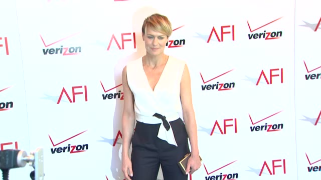 robin wright at the 14th annual afi awards at the four seasons hotel los angeles at beverly hills 01/10/14 - robin wright stock videos & royalty-free footage