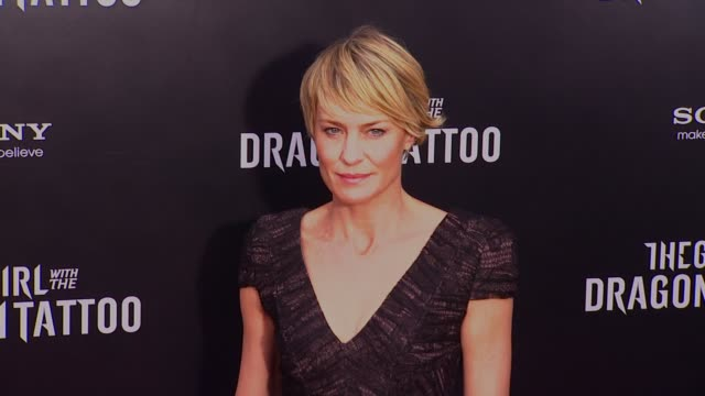 Robin Wright Girl With Dragon Tattoo Robin Wright Vi...