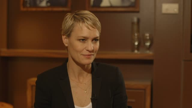 interview robin wright on publicizing film projects as a necessary part of the industry at 'the congress' interviews interview robin wright on... - robin wright stock videos and b-roll footage